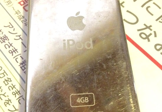 初代iPod nano 4GB