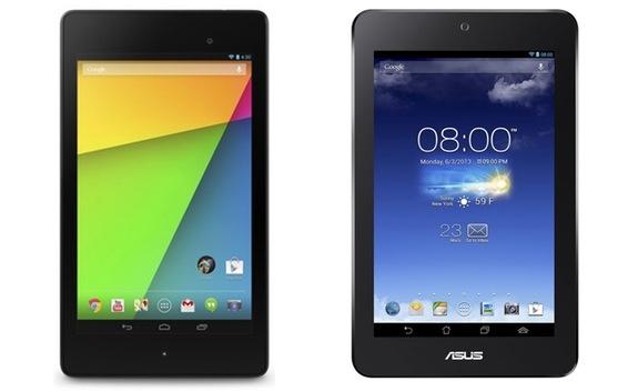 新Nexus7(2013)とASUS MeMO Pad HD7の比較