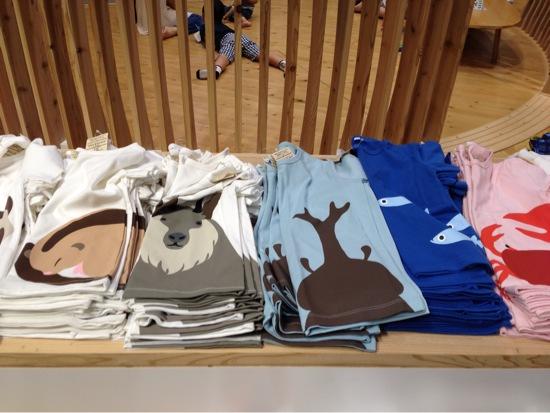 無印良品の動物プリントTシャツがかわいい。子供だけじゃなく大人用や長袖もあるんだねてにもつひとつで